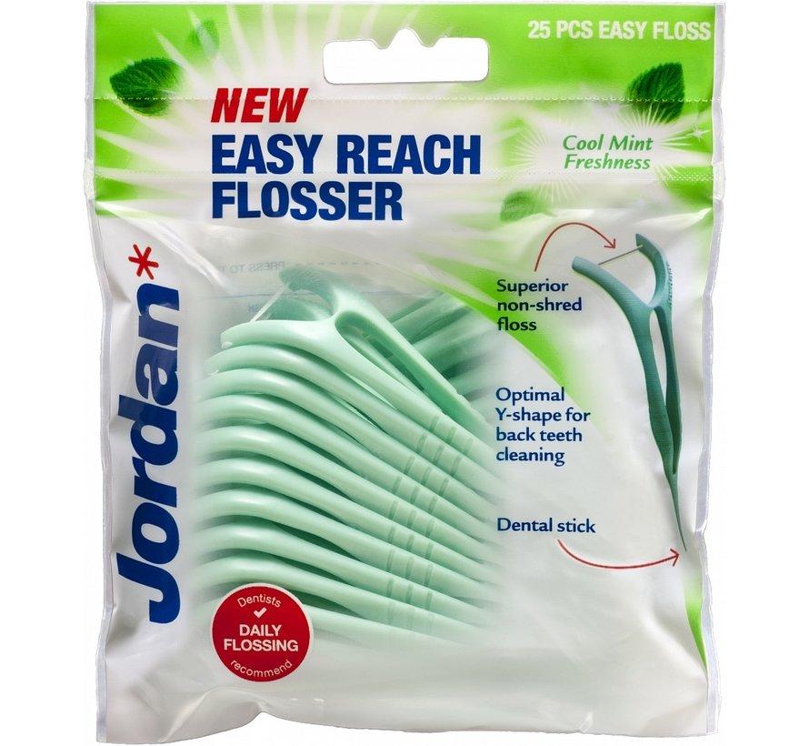 3x Jordan Easy Reach Flosser 25 stuks - Voordeelverpakking