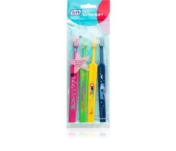TePe TePe Kids Extra Soft Tandenborstel - 4 stuks