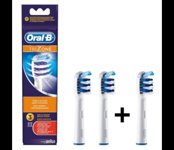 Oral-B Oral-B Trizone Opzetborstels - 3 stuks