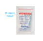 Lactona Interdentaal Ragers - Small 4mm - Groen - 6 gripzak x 5 stuks - Met gratis beschermhouder - Voordeelpakket