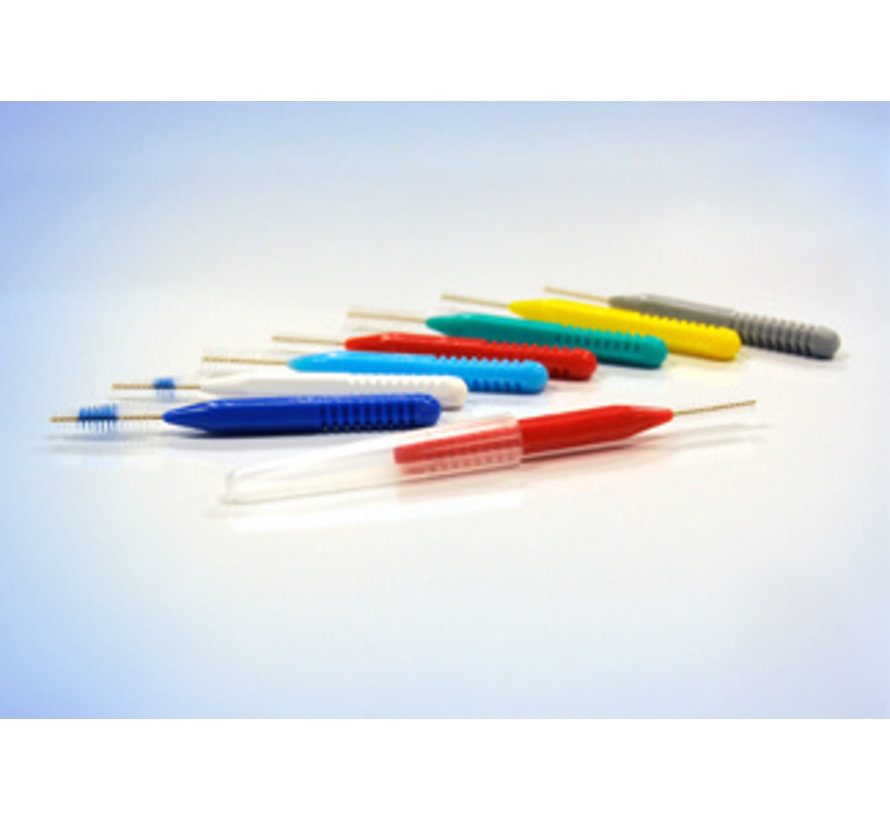 Lactona Easygrip Ragers Conisch-Easygrip B 3Mm-7Mm, Donkerblauw - 6 Gripzak X 5 Stuks - Voordeelpakket