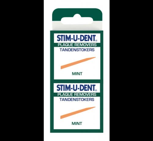 Stimudent Stimudent Tandenstokers Mint – 3x 100 stuks