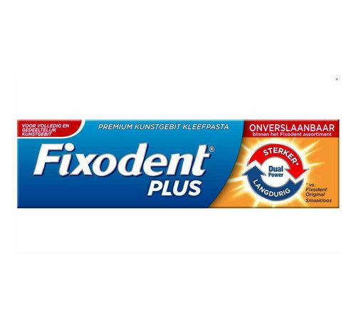 Fixodent 6x Fixodent Plus Dual Power Premium Kleefpasta - 40 gram