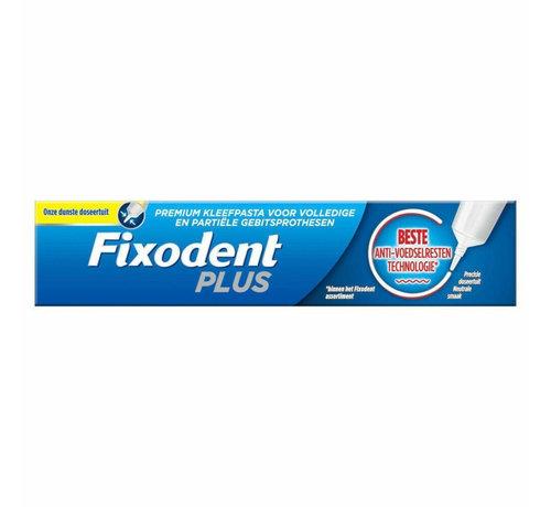 Fixodent 6x Fixodent Plus Anti-voedselresten Kleefpasta 40 gram