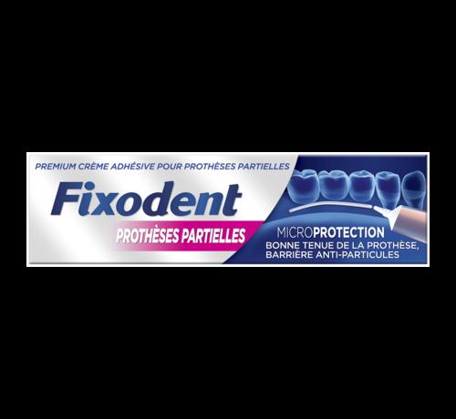 Fixodent 6x Fixodent Microseal Kleefpasta voor Gedeeltelijke Gebitsprotheses - 40 gram