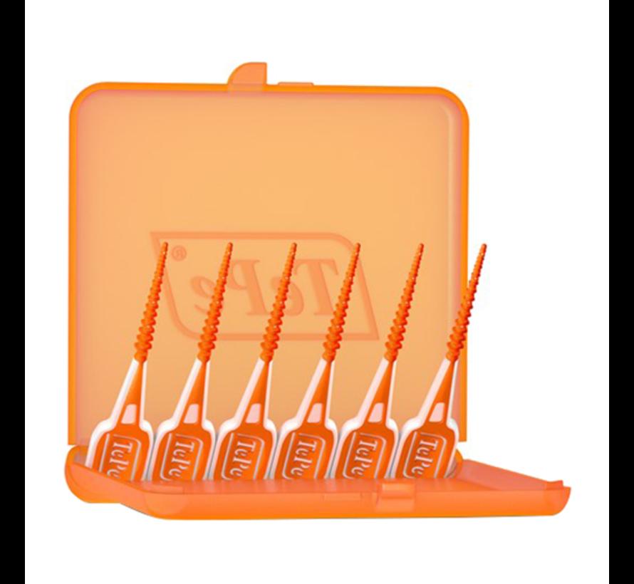 10x TePe EasyPick XS-S Oranje 60 stuks