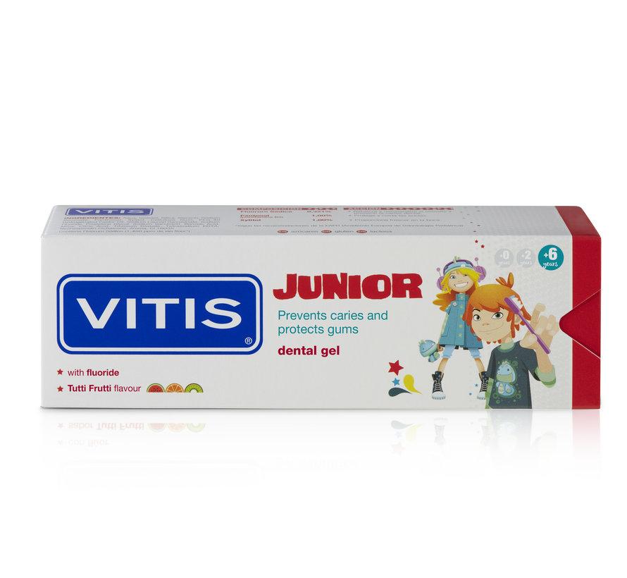 3x Vitis Tandpasta Junior 75 ml