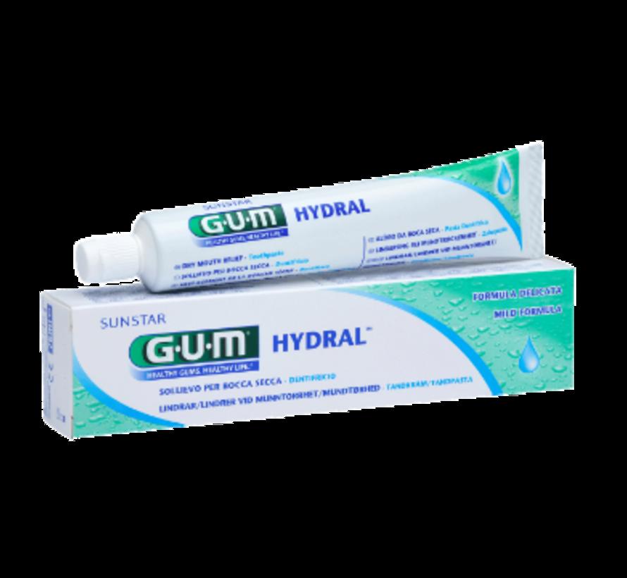 4x GUM Hydral Tandpasta 75 ml
