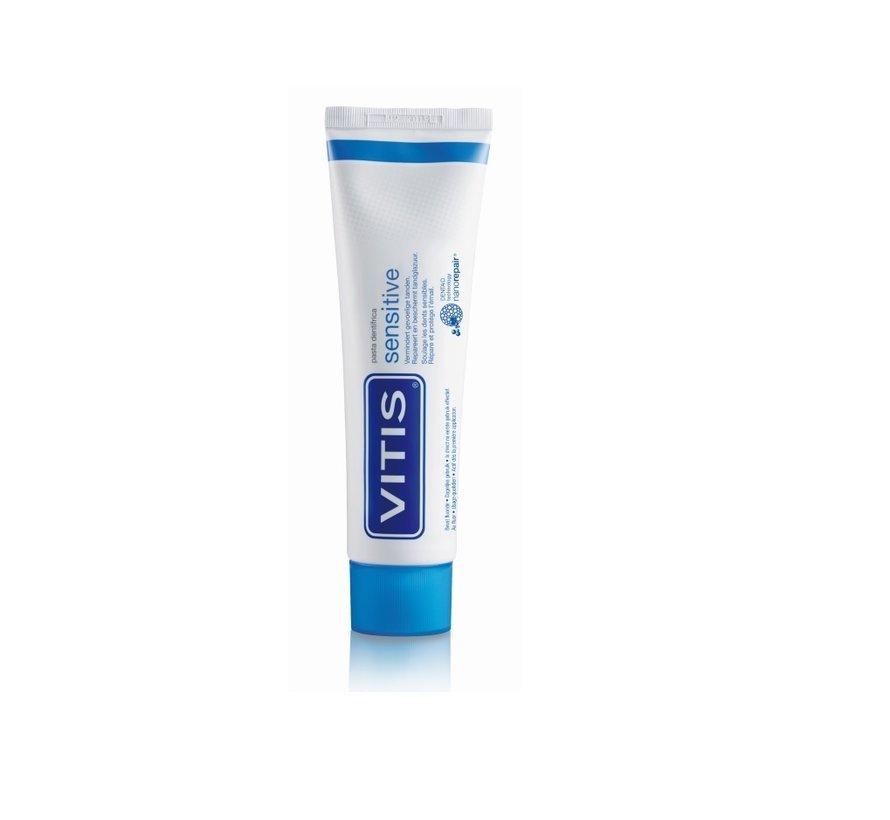 4x Vitis Sensitive Tandpasta 75 ml