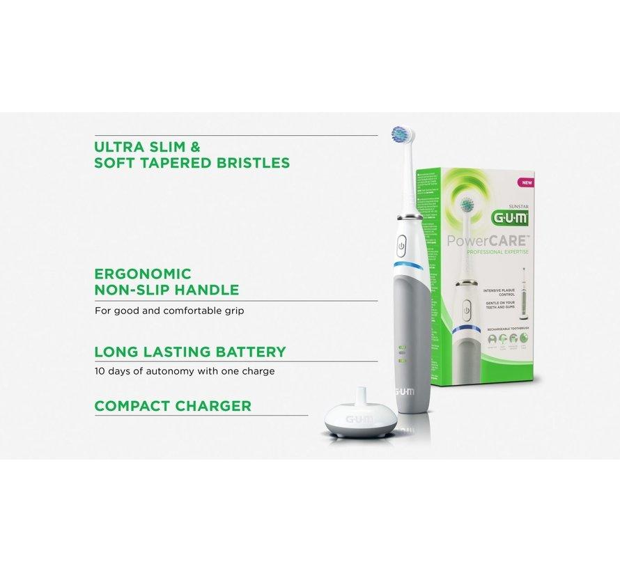 2x GUM Elektrische Tandenborstel PowerCare