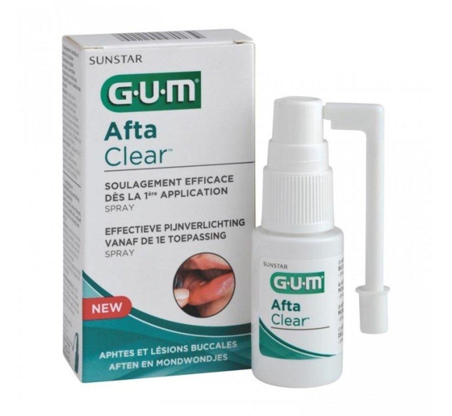 2x GUM AftaClear Spray 15 ml
