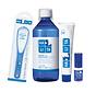 Halita - slechte adem pakket: tongreiniger, tandpasta en mondspray.