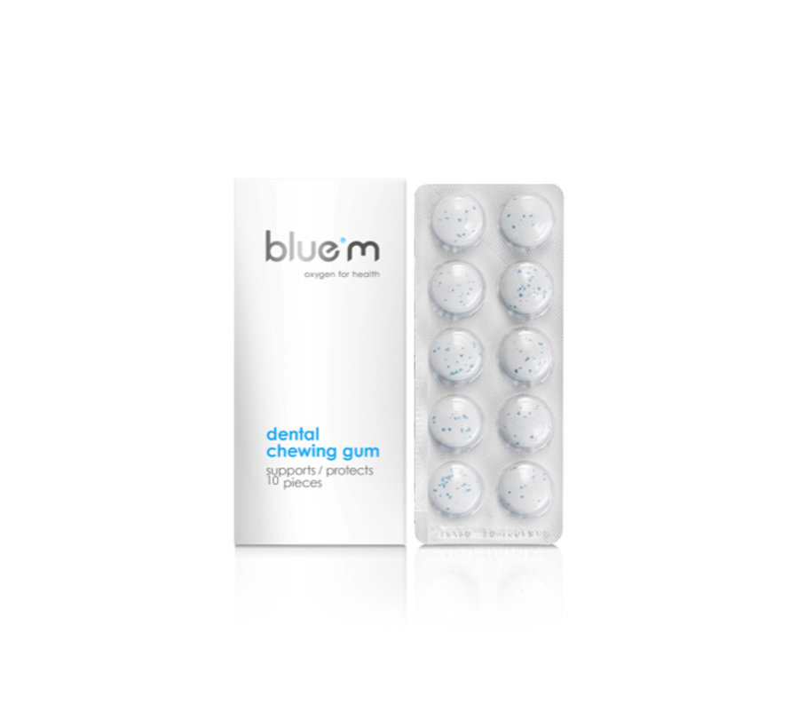 3x Bluem Dentale Kauwgom