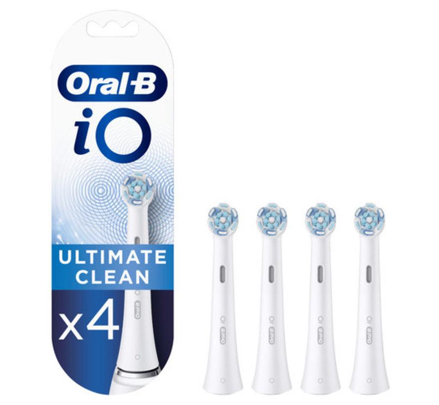 Oral-B iO Ultimate Clean Opzetborstels - 4 stuks