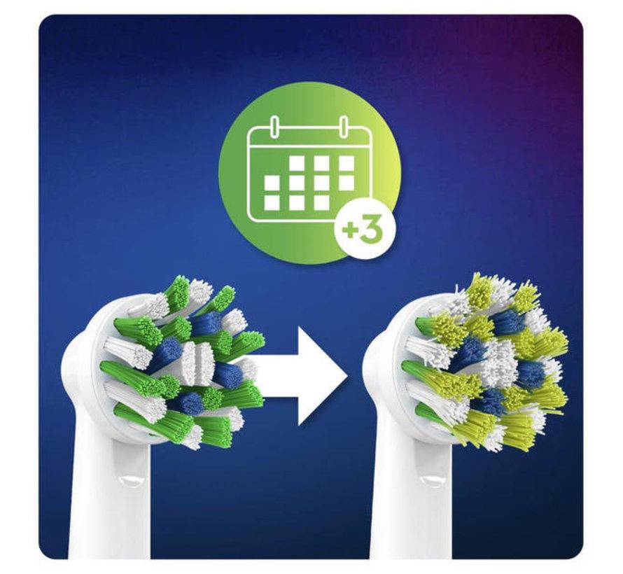 Oral-B Cross Action Opzetborstels CleanMaximiser - 4 Stuks