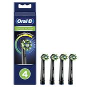 Oral-B Oral-B Cross Action Opzetborstels CleanMaximiser - 4 Stuks - Zwart