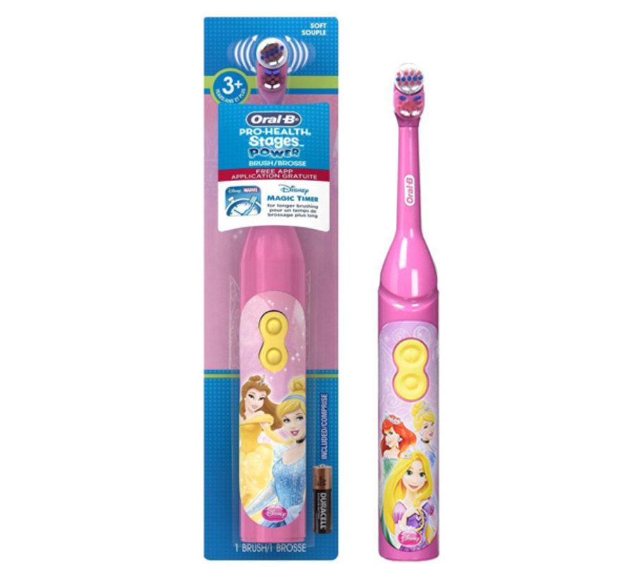 Oral-B Disney Princess Elektrische tandenborstel op batterij