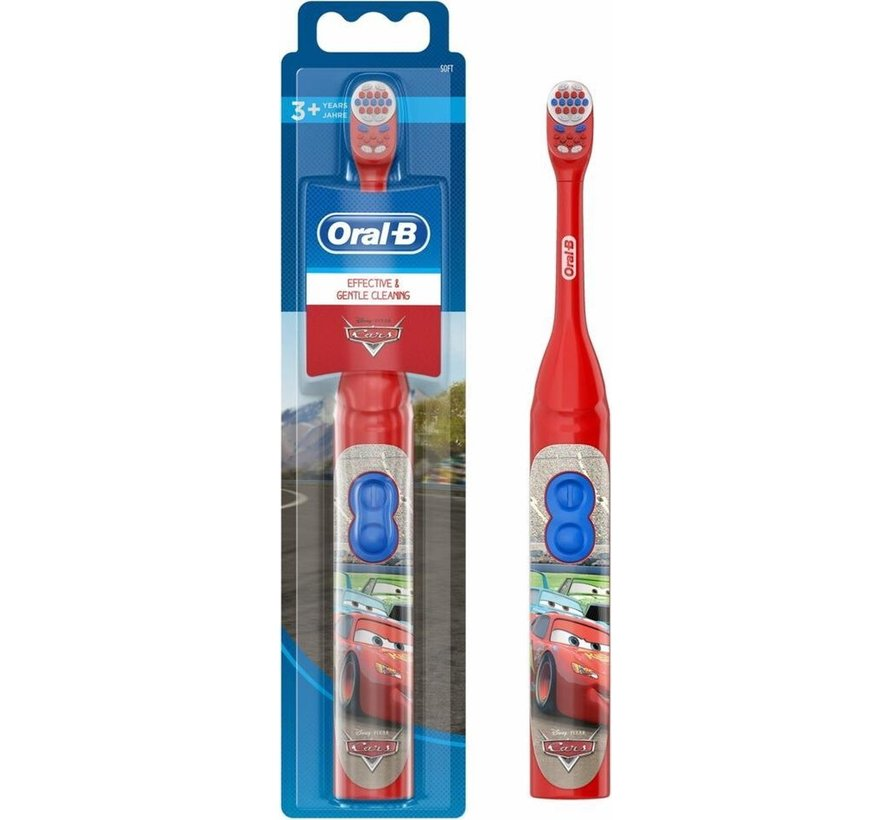 Oral-B Disney Cars Elektrische tandenborstel op batterij