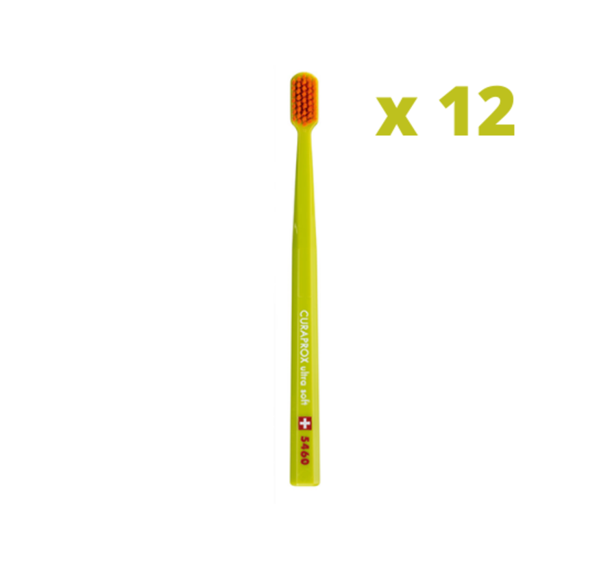 Curaprox CS 5460 Ultra Soft Tandenborstel - 12 stuks