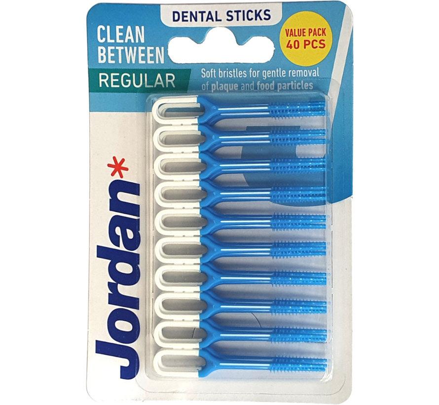 Jordan Clean Between Sticks Regular 40 Stuks