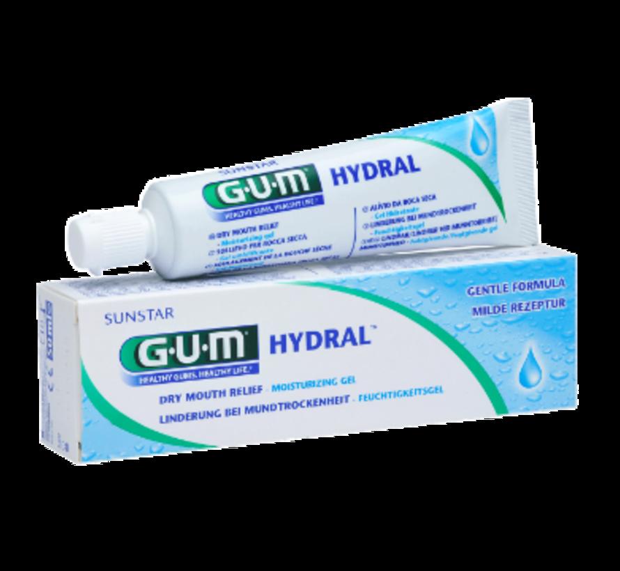 3x GUM Hydral Bevochtigingsgel 50 ml