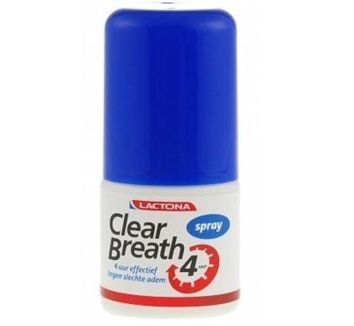 Lactona Lactona Clear Breath Mondspray - 6x 25 ml - Voordeelverpakking