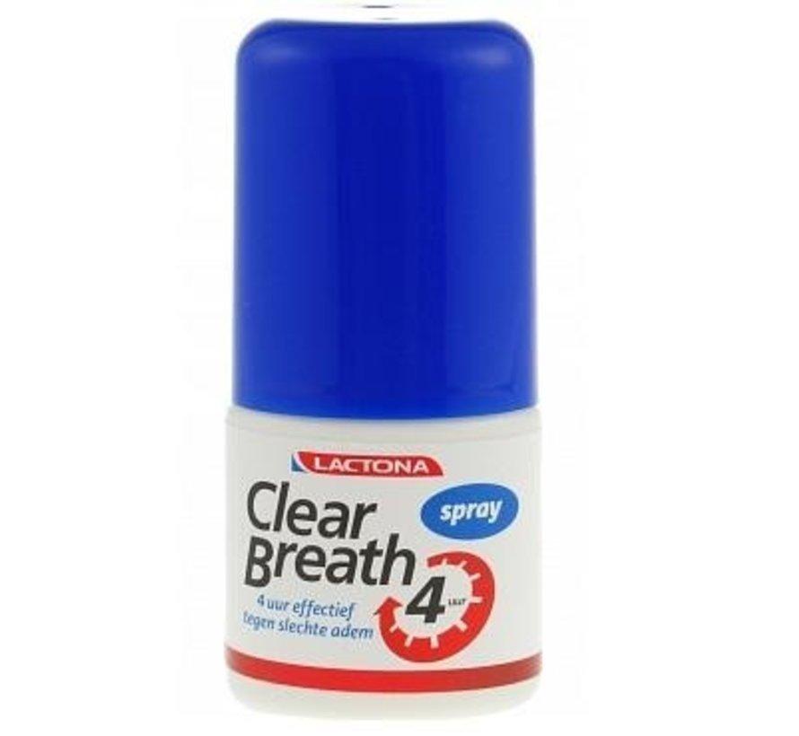 Lactona Clear Breath Mondspray - 6x 25 ml - Voordeelverpakking
