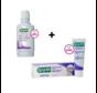 GUM Ortho Voordeelpakket - Tandpasta + Mondspoelmiddel