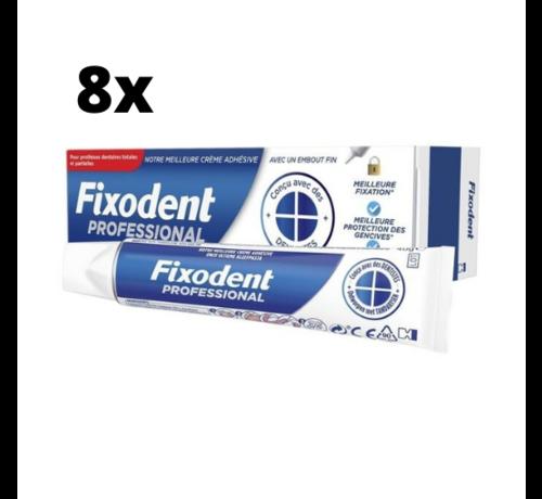 Fixodent Fixodent Professional Kleefpasta - 8 x 40 gram - Voordeelpakket