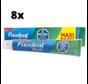 Fixodent Plus Duo Bescherming Antibacterieel Kleefpasta - 8 x 57 gram - Voordeelpakket