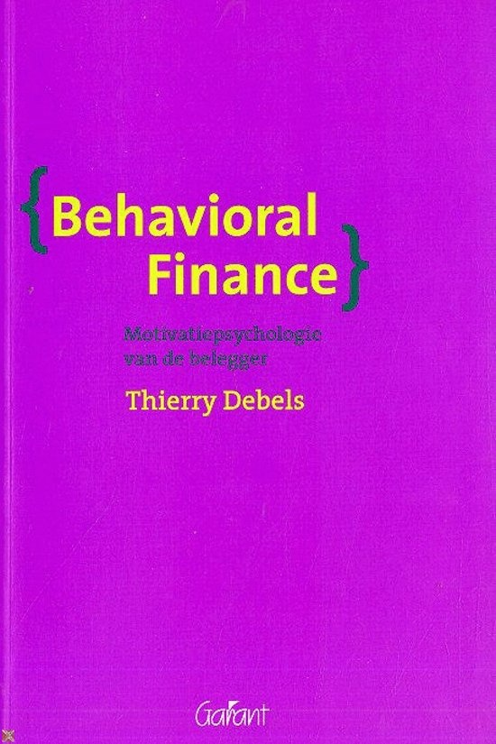 BOEK behavioral finance - thierry debels