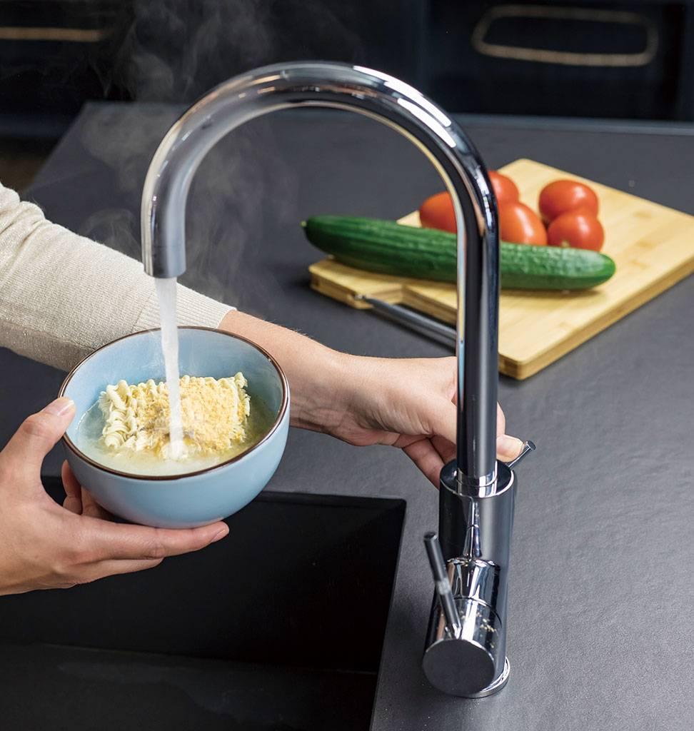ACE-watersystems ACE.BOIL de 3 in 1 kokende keukentapkraan