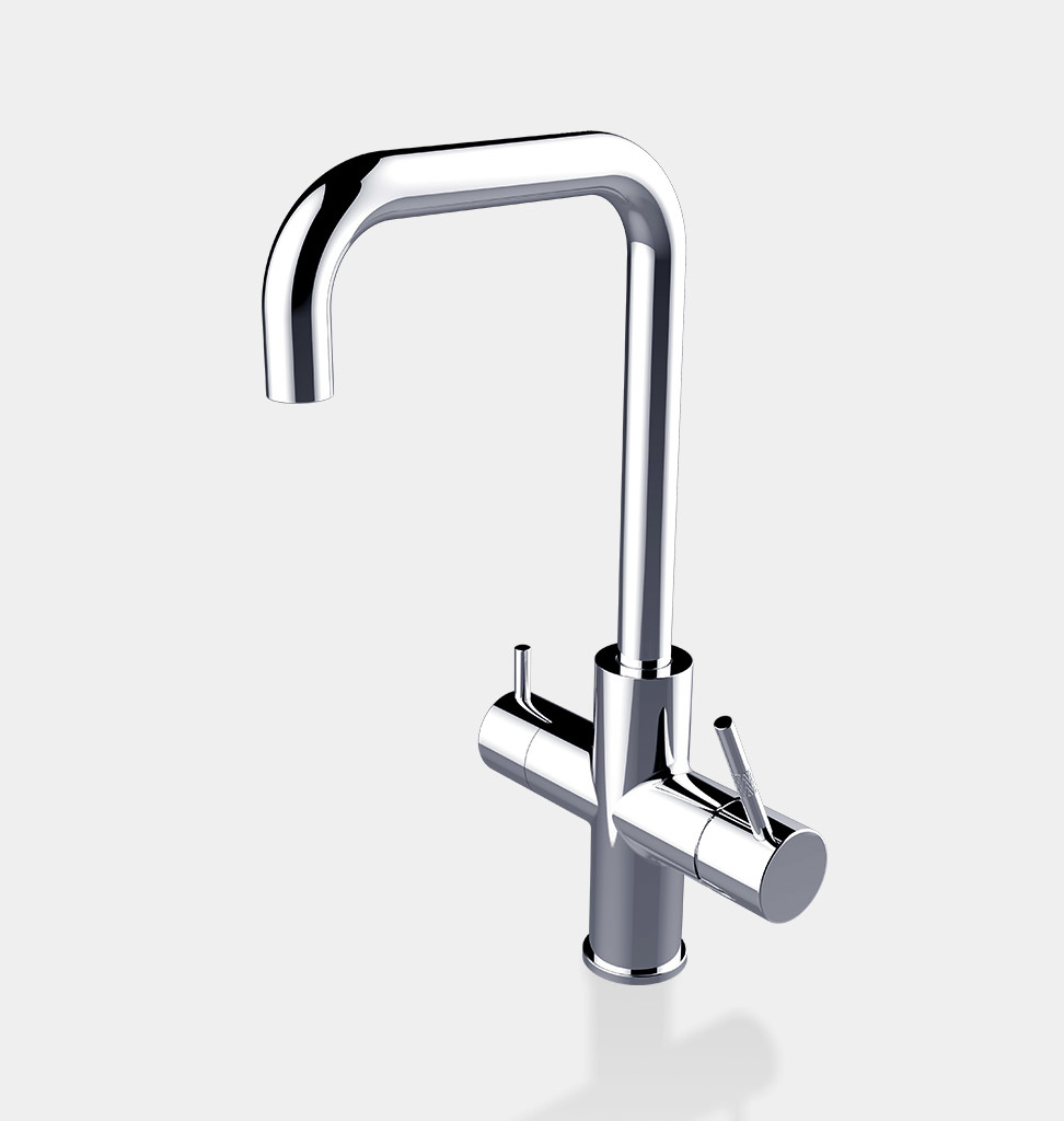 ACE ACE.BOIL, the 3 in 1 instant boiling kitchen faucet