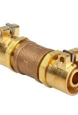 Microflex koppeling, rechte verbinding