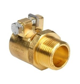 Microflex PE-X koppeling buitendraad tbv drinkwater