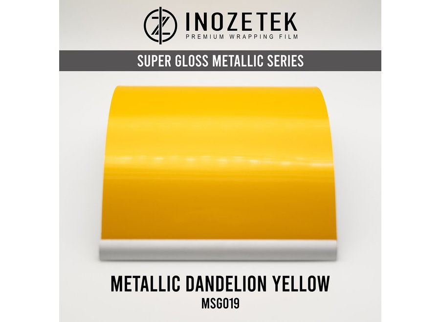 Inozetek Super Gloss Metallic Dandelion Yellow MSG019
