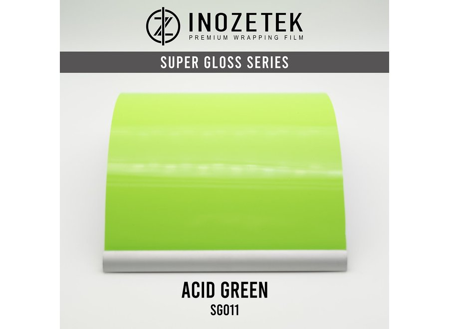 Inozetek Super Gloss Acid Green SG011