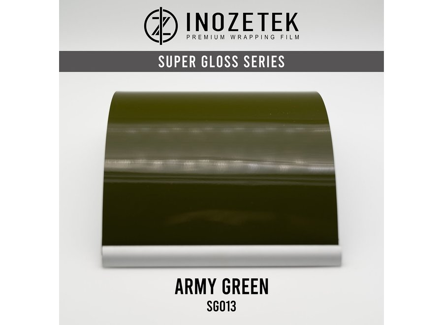 Inozetek Super Gloss Army Green SG013