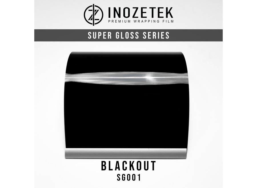 Inozetek Super Gloss Blackout SG001