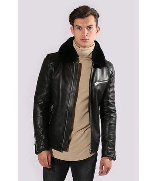 Zumo-Leather Jackets-TRIUMPH-Black