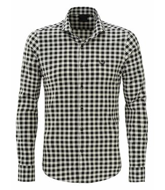 Zumo Shirts WINWOOD-CHECK Black