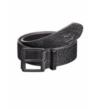 Zumo Belts LOGO-BUCKLE-TURTLE DarkGrey