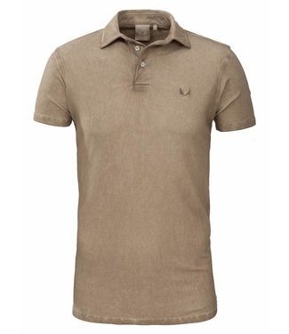 Zumo Polo's TOMMY-DIRTY-WASH Brown