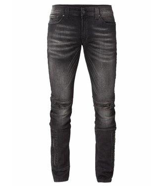 Zumo-Jeans-FRESNIK-LEG ZIP-Black