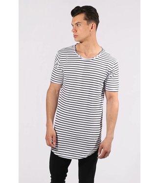 Zumo-T-shirts-SCHORIPOTO-STRIP-White