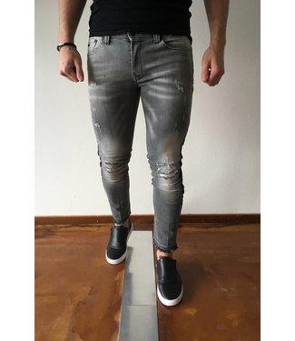 Zumo-Jeans-FRESNIK-SIDE STR-Grey