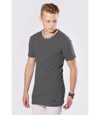 Zumo-T-shirts-SCHIO-CHALK-STRI-Black