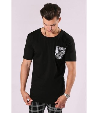 Zumo-T-shirts-SALCE-SKULL-Black