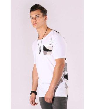 Zumo-T-shirts-SALCE-GEO CAMO-White