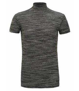 Zumo-T-shirts-TURTLE-Black Melange